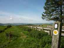 Herrock Hill, Offas Dyke Sign